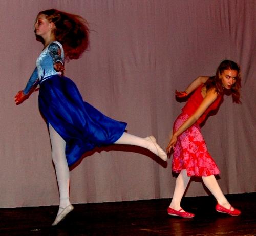 Wer reitet so spät durch Nacht und Wind? Tanztheater lyrisch inspiriert Bild9
