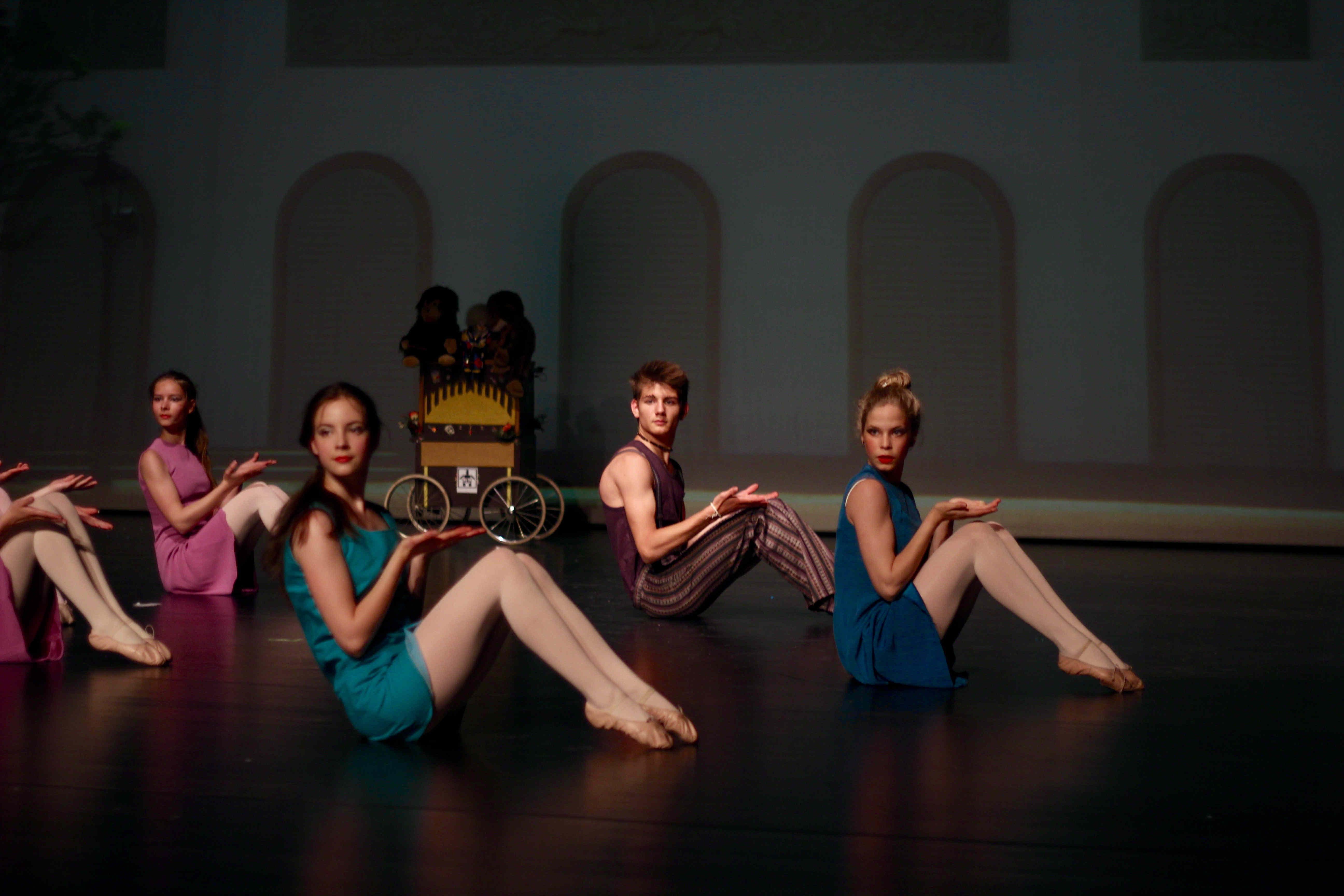 2015 Stadtsplitter Ballett Aschaffenburg Stadttheater Karlsplatz
